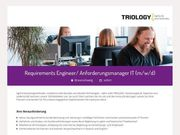 Requirements Engineer Anforderungsmanager IT m