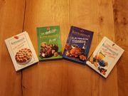 Alle 4 Rezept Bücher zusammen