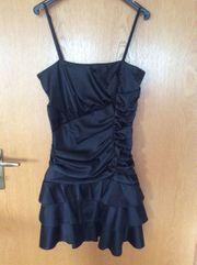 Schwarzes kurzes Kleid Party- Abendkleid