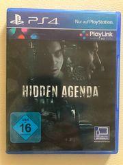 Hidden Agenda PS4 - neuwertig