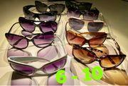 Sonnenbrillen Damen diverse 6-10