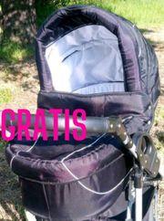 GRATIS Baby-Softtragetasche von Bergsteiger