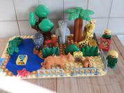 Lego Duplo Platte bebaut als