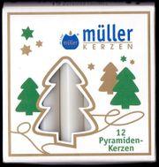 12 Weihnachtskerzen Weihnachtsbaumkerzen Pyramidenkerzen