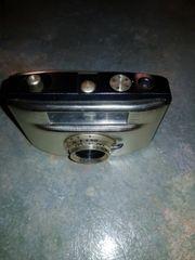 Wir geben einen älteren Fotoapparat