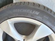 Mercedes Stahlfelgen mit Michelin Sommerreifen