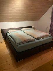 Bett inkl Lattenrost und Matratzen