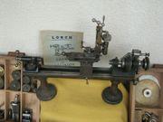 Uhrmacher Drehbank Räderschneidmaschine Gewindeschneiden Viel