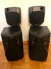 Surround-Boxen Lautsprecher von SONY