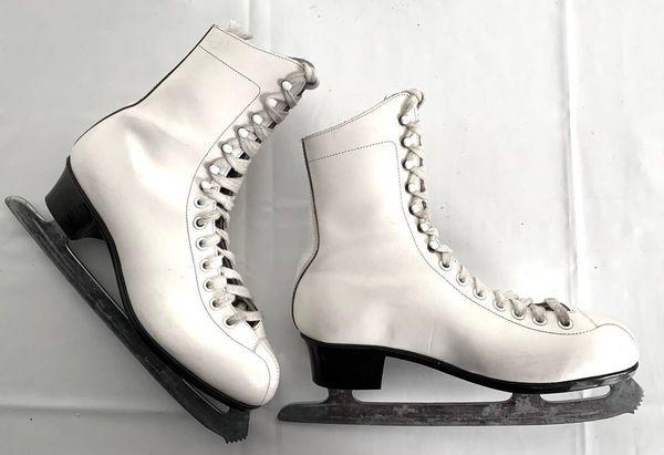 Damen Eislaufschuhe Leder Gr 38