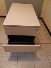 Tisch Schreibtisch Rollcontainer H 53cm