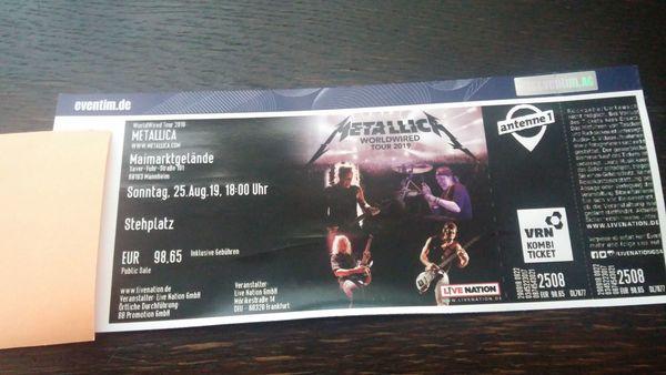 Metallica 25 08 2019
