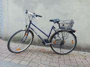 Damen Fahrrad Veneto KTM blau