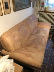 Couch Sofa Ottomane 3-Sitzer zu