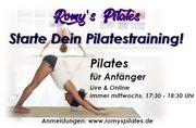Pilates für Anfänger live online