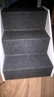 Trixie Hundetreppe Tiertreppe Treppe-weiss-Holz-Neu-Rampe