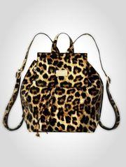 PICARD Markenqualität - City-Rucksack mit Leopard-Look