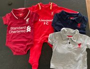 Original FC Liverpool Babykleidung 3-6