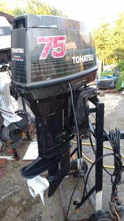 Aussenborder Tohatsu 75 PS E-Start
