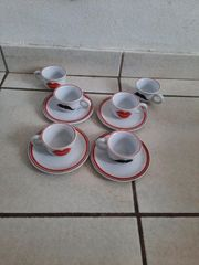 Espresso Geschirr 10 Teile es
