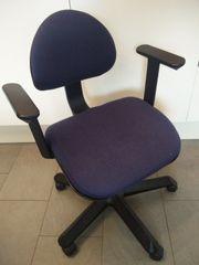 Schreibtischstuhl Höhenverstellbar mit Armlehne und