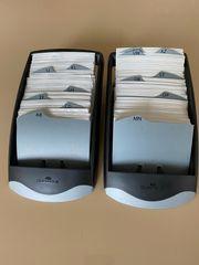Durable Visitenkartenboxen Visifix Desk Vegas