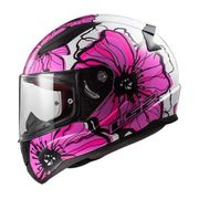 Helm LS2 POPPIES in pink