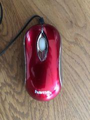 HAMA-Notebook oder Tablet-USB-Maus mit aufrollbarem