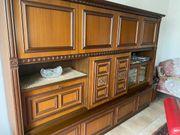 Wohnzimmer Esstisch Lsmpe und Sideboard