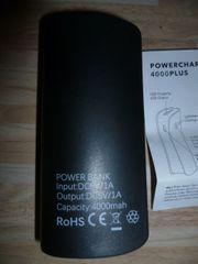 Ladegerät für Handy Powercharger 4000