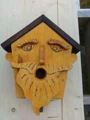 Nisthaus Vogelhaus für Wand oder