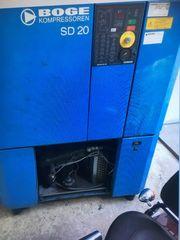 Schraubenkompressor Boge Sd20