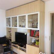 Wohnzimmerschrank mit Glas