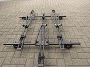 Dachgepäckträger für drei Fahrräder
