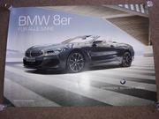 Poster Autoposter Werbeposter Werbung BMW