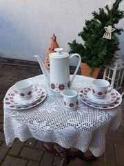 8-tlg nostalgisches Porzellan-Geschirr-Set von Winterling