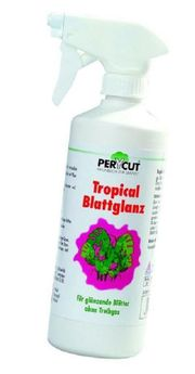 Tropical Blattglanz beseitigt Kalkflecken und