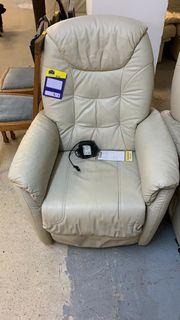 TV Sessel Leder Elektrisch - LD260166