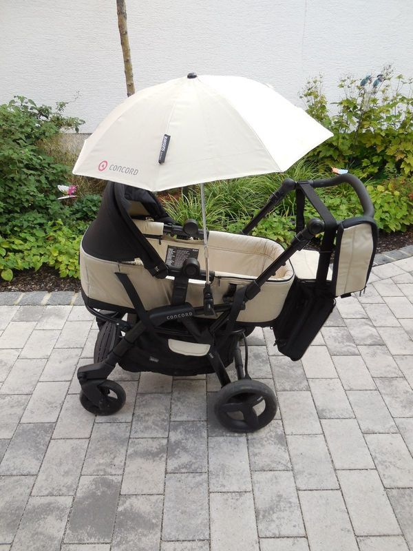 Kinderwagen Concord 2 teilig Babyschale
