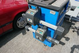KFZ-Werkzeug, Werkstattausrüstung - Achsmessgerät RAV TD 1700 Achsvermessung