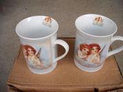 6 Kaffeetassen mit Engel