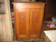 Antik Vertiko mit 2-Türen 1