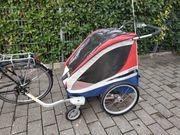 Fahrrad-Kinderanhänger für 2 Kinder Chariot