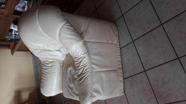 Kunstleder Sessel