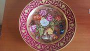 Flämische Bauernmalerei - Wandteller - Kaiser Porzellanmanufaktur