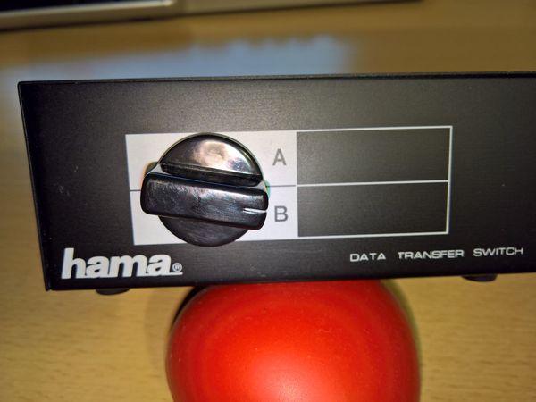 Hama Data Transfer Switch - VGA-Umschalter