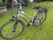 26er Damenrad silber Fahrrad Trekking