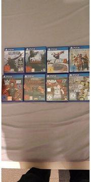 PS4 Spiele Top Zustand
