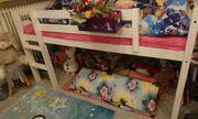 Hochbett Spielbett Bett mit Leiter