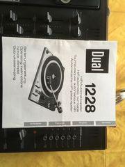 Plattenspieler Dual 1228 mit Wega